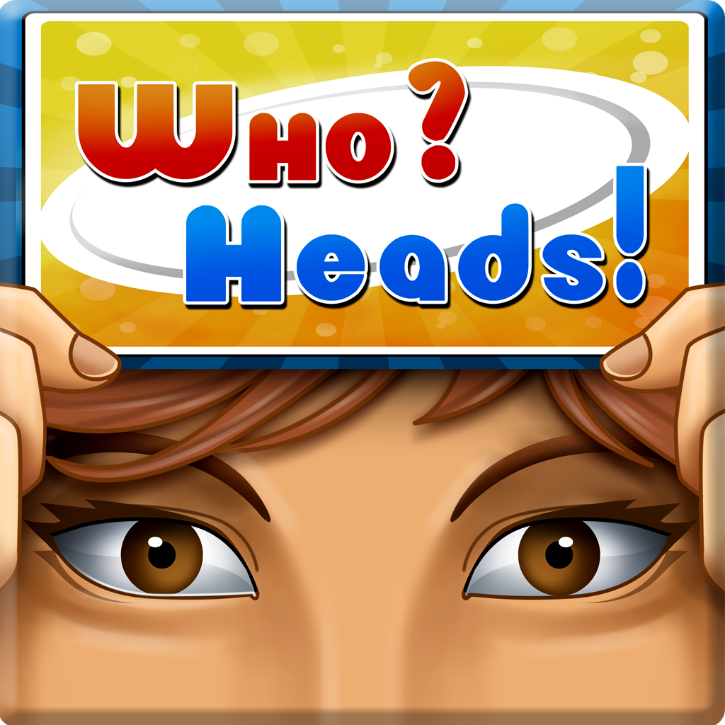 Who Heads - Guess An Easy Word, Funny Charade or Celebrity (Party)