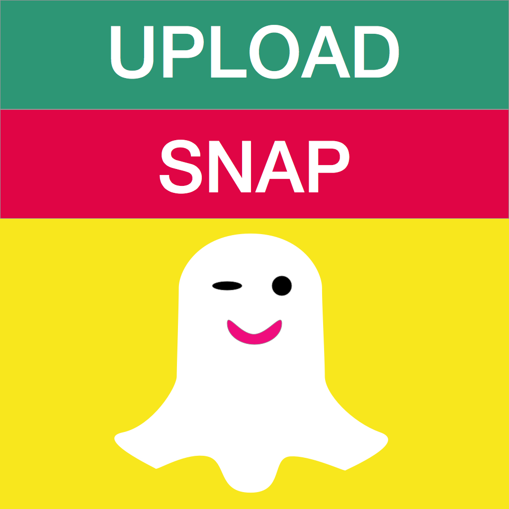 UploadSnap Free for Snapchat - Upload any photo & video from camera roll to snap chat - snapupload
